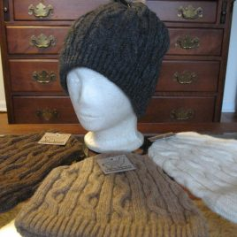 Cable Heirloom Beanie